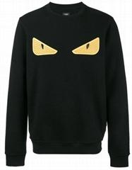 Bag Bugs eyes sweatshirt       wool cotton long sleeves hoodie