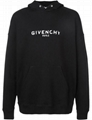 Givenchy Paris faded logo vintage hoodie