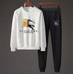 cotton sweatshirt and sweatpant Fashion tracksuit on sale