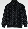 Louis Vuitton monogram jacquard fleece jacket