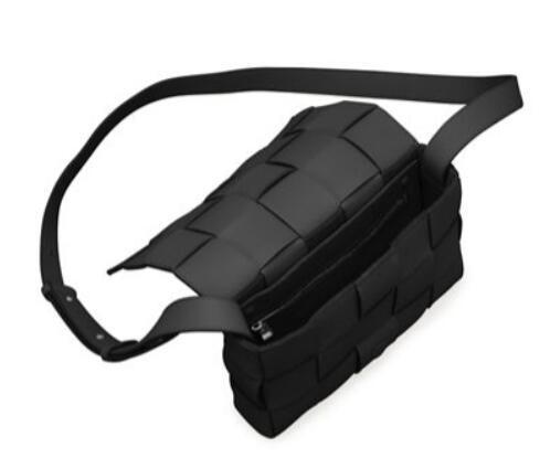Bottega Veneta Cassette Woven Napa Crossbody Bag