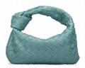 Bottega Veneta The Jodi Mini Intrecciato Knot Hobo Bag Women woven leather tote