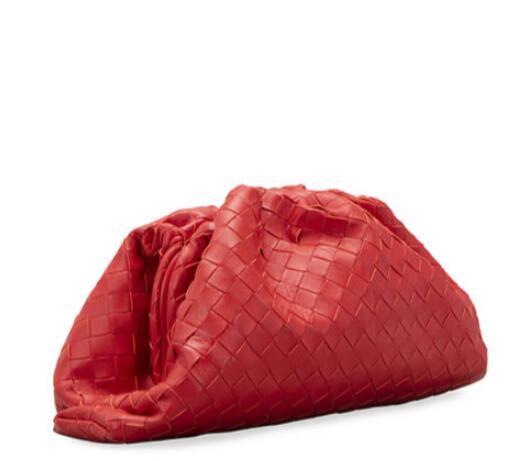 Bottega Veneta The Intrecciato Pouch Clutch Bag Cheap woven leather clutch