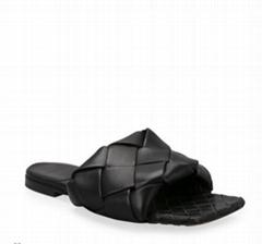 The Lido Flat Sandals BV mule sandals