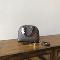 Louis Vuitton Alma BB Brown Canvas Handbags