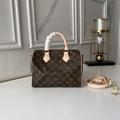 Louis Vuitton Speedy Bandouliere 25 Monogram Canvas Handbags