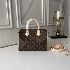 Speedy Bandouliere 25 Monogram Canvas Handbags    small bags