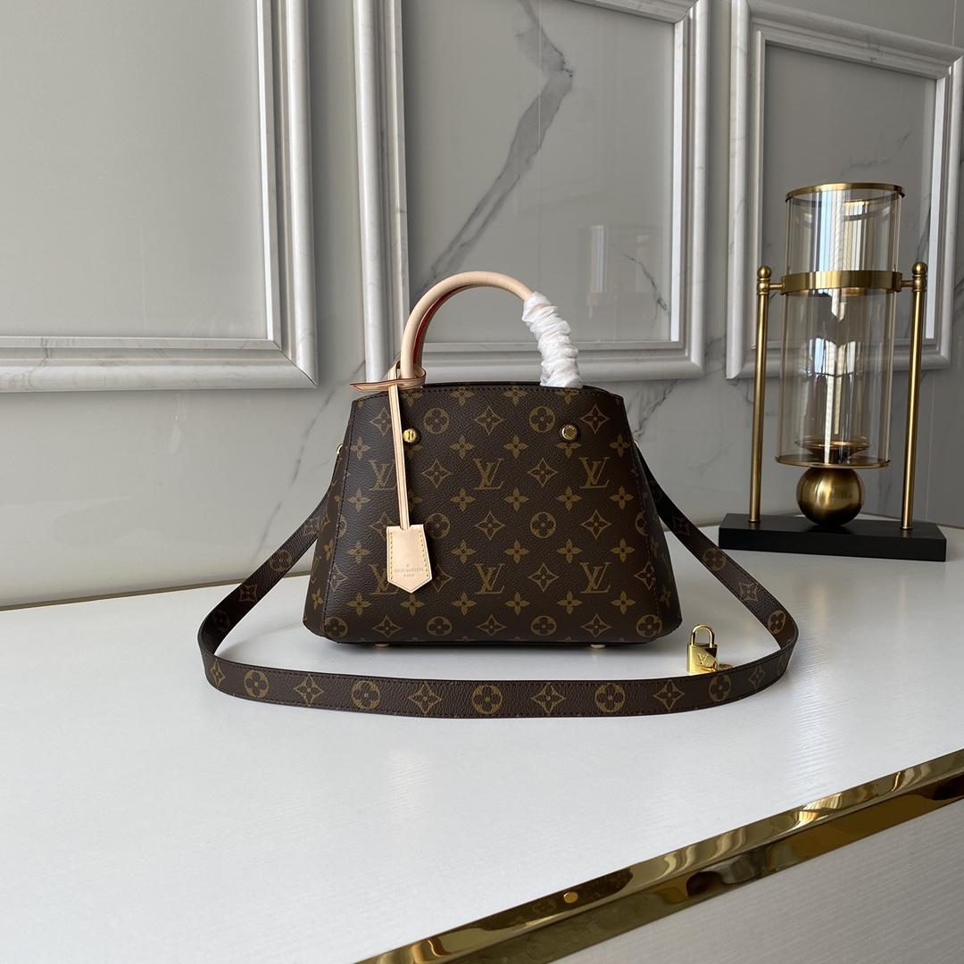 LOUIS VUITTON Montaigne BB bag