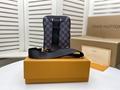 Men's Freddie Vintage Check Camera Bag men design bag  3