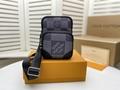 Men's Freddie Vintage Check Camera Bag men design bag  1