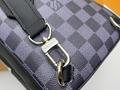 Men's Freddie Vintage Check Camera Bag men design bag  6