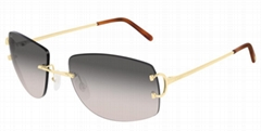 Cartier CT0008RS Metal Construction Unisex Style glasses