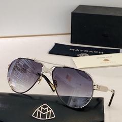 Maybach Eyewear Men Platinum Frame sunglasses