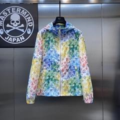 Full print Graffiti Logo jacket    men jackets