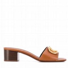 VLOGO low heel sandals Women heel mules