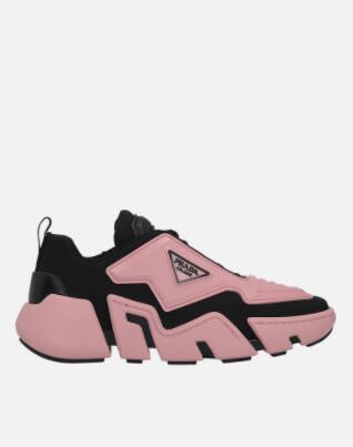 Prada Segment neoprene and rubber sneakers