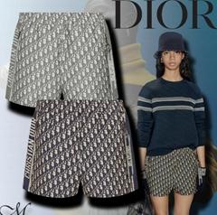 Women      Oblique Shorts Elegant Casual Style short Fashion      LOGO short