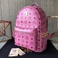 MCM Stark studded monogram backpack