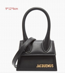 JACQUEMUS Logo Small leather bag Women mini crossbody bags