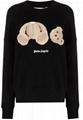 Palm Angels bear-motif sweatshirt