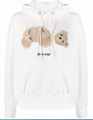 Palm Angels Teddy Bear patch cotton hoodie