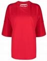 Palm Angels logo-print oversized T-shirt