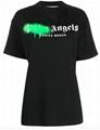 Palm Angels graffiti logo print T-shirt