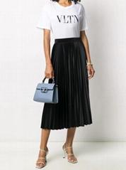 VLTN sequin-embellished T-shirt women cotton tee cheap white t-shirt