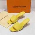 Louis Vuitton Revival Mule shoes LV Revival High heel sandals