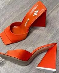 THE ATTICO Block heel mules Women high heel sandals