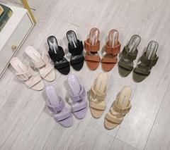 Manolo Blahnik Gable buckled sandals Women 70mm gable suede mule sandals