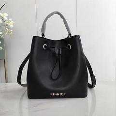 Suri Small Saffiano Leather Crossbody Bag Mk bucket bag