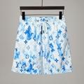 Ink Watercolour Monogram Board Shorts    beach shorts    swimsuit