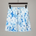 Louis Vuitton Ink Watercolour Monogram Board Shorts LV beach shorts LV swimsuit
