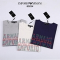Armani logo Printed Jersey T Shirt for Men