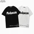 Alexander McQueen logo print T-shirt men