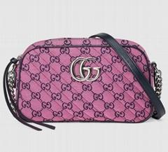 GG Marmont Multicolour small shoulder bag Fashion cheap crossbody bag (Hot Product - 3*)
