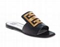 GIVENCHY 4G Logo Slide Sandal Women leather slipper sandals
