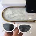 Celine eyewear Cat-eye acetate sunglasses Celine white frame sunglass