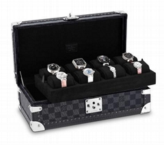 coffret 8 montres             Canvas 8 Watch Case Trunks and Trave (Hot Product - 1*)