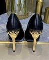 Versace Versace Safety Pin Leather Pumps medusa pin pump shoes