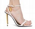 Tom Ford PADLOCK 105mm sandal