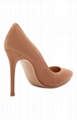 GIANVITO ROSSI Blue suede pump women high pums for sale