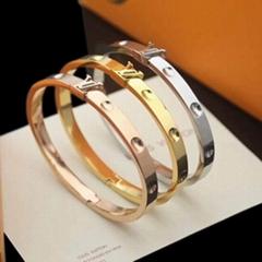 Empreinte Yellow Gold Bangle    Empreinte bracelet