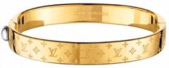 Gold Nanogram Cuff Cheap    Bracelet (Hot Product - 1*)