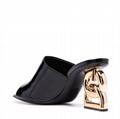 Dolce & Gabbana DG-heel mules