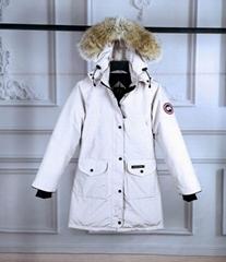 Women's Trillium Parka Coat Ladies down coats fashion fur jackets