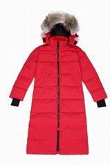 Mystique Long Parka jacket Women Full length parka coat