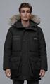 Canada Goose Macculloch Parka Black Label Men fur down coats