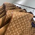 Louis Vuitton monogram Hooded wrap coat LV Ladies Wrap Peacoat